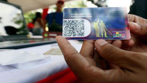 Nuevo bono entrega el Carnet de la Patria a partir del 10 de febrero
