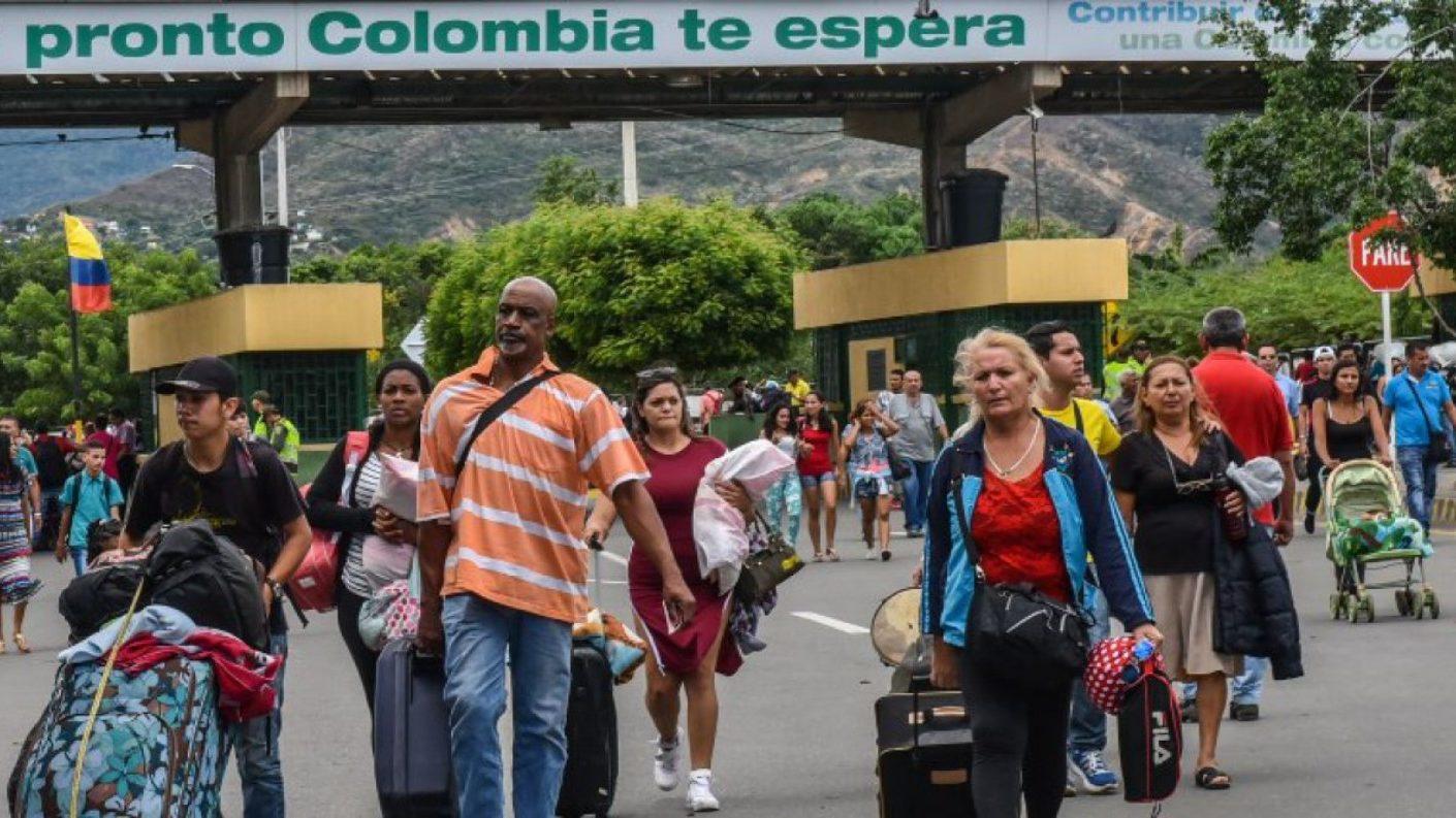 Frontera colomboa venezolana