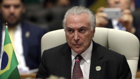 Temer admitió por primera vez que le dieron «golpe» a Roussef