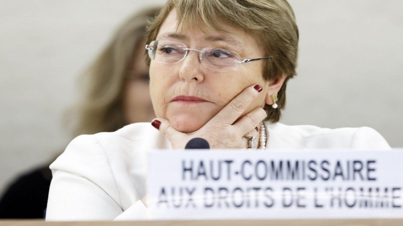 Bachelet clarísima