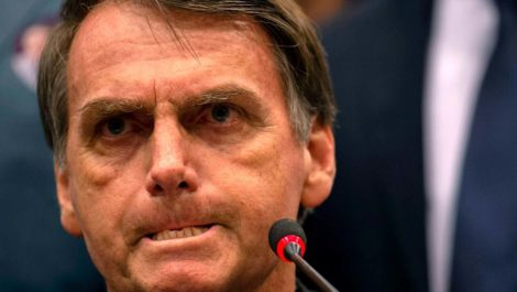 Jair Bolsonaro cree padecer cáncer de piel