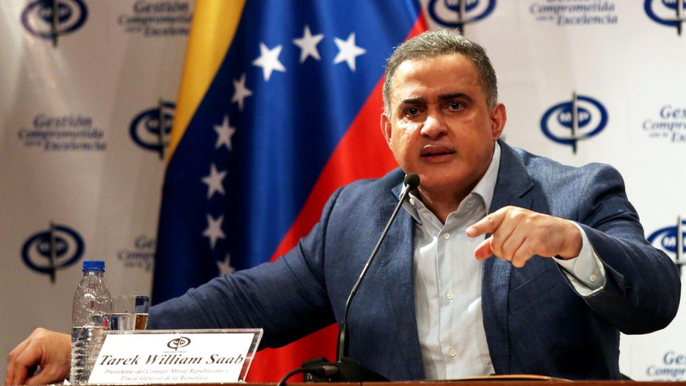 Tarek William Saab anunció detención de los supuestos responsables del apagón