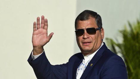 Juicio contra expresidente Rafael Correa fue suspendido hasta nuevo aviso