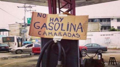¿Gasolina?: no hay