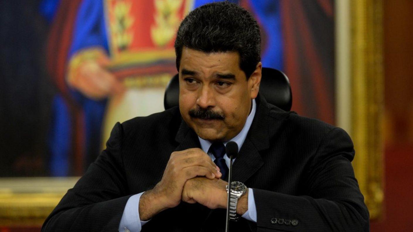 Nicolás Maduro preocupado