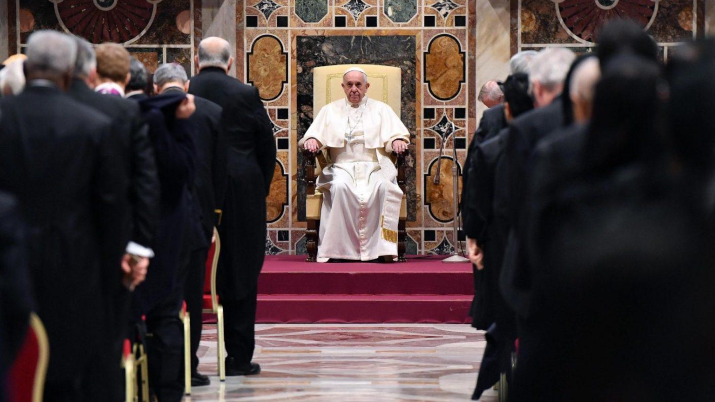 El Vaticano le dijo sí a Maduro