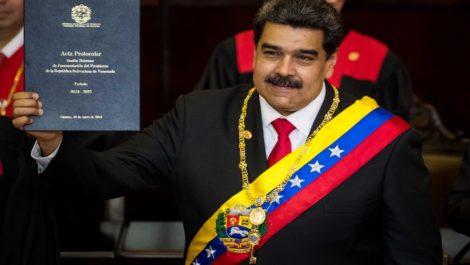 Nicolás Maduro jura ante el TSJ