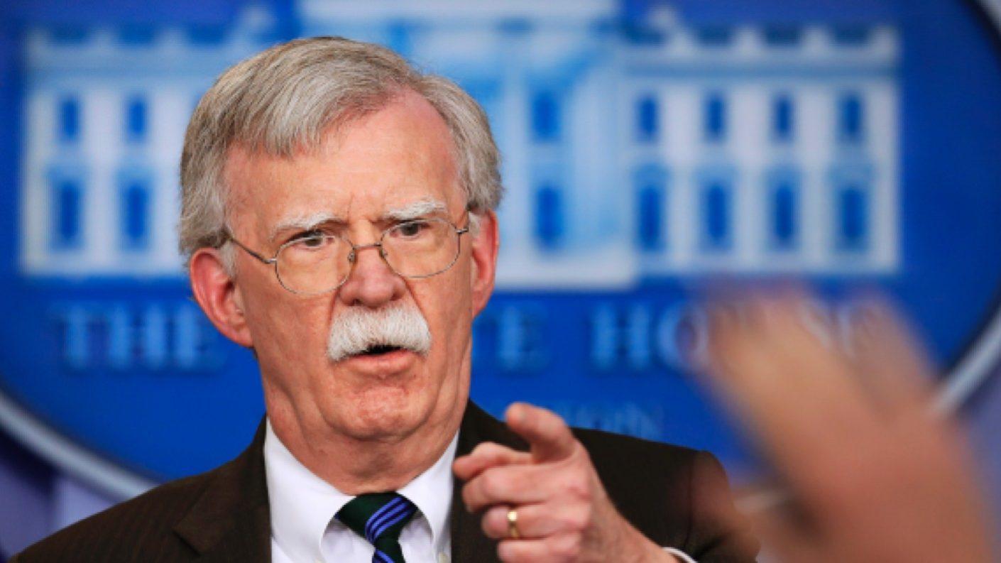 Los días de Maduro están contados, así lo señaló John Bolton