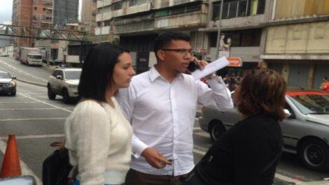 Fueron liberados los periodistas detenidos en miraflores
