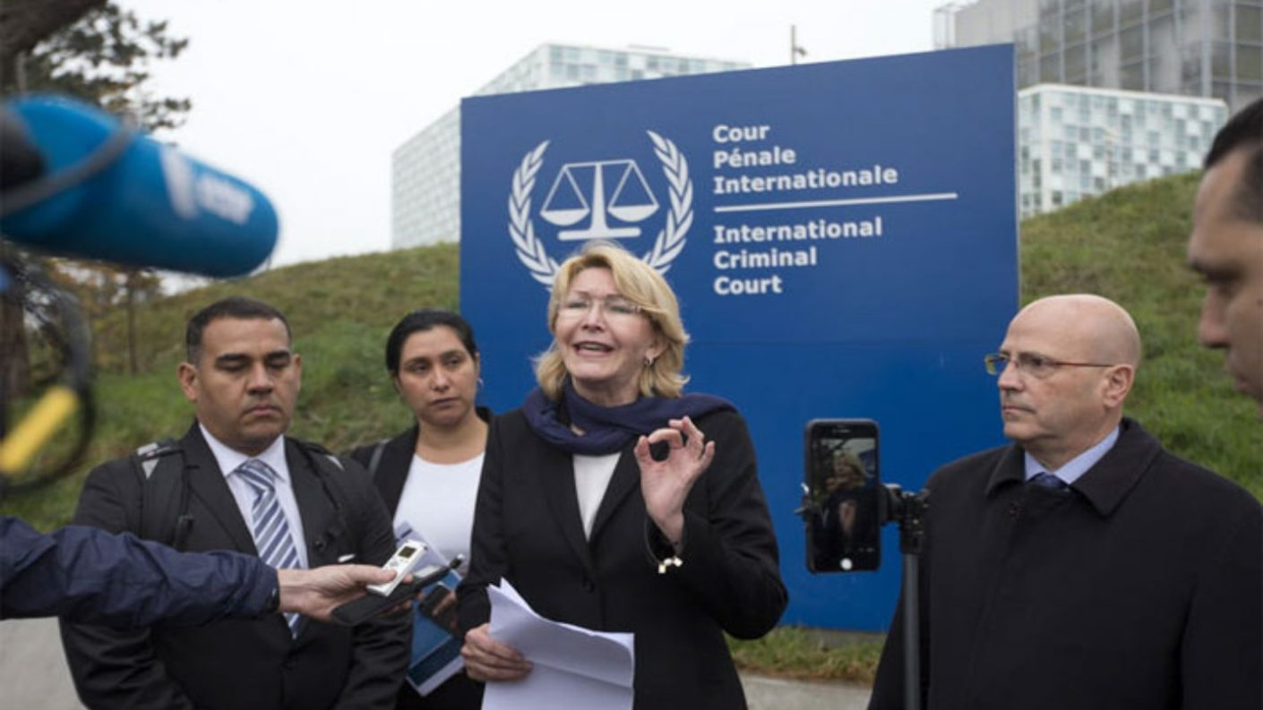 Luisa Ortega fue a la CPI