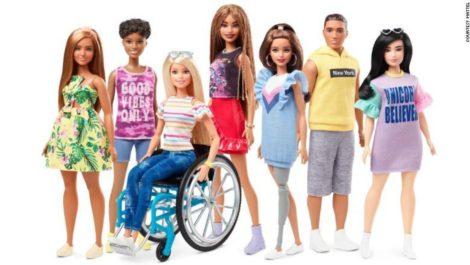 Ahora Barbie tiene más diversidad y tendrá muñecas con discapacidad