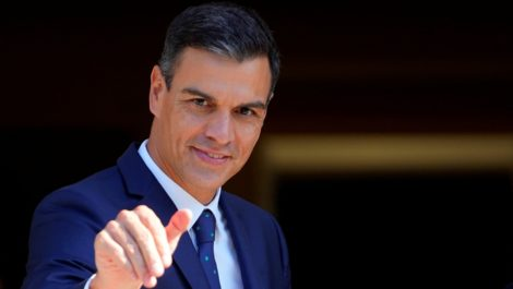 Pedro Sánchez se refiere a Guaidó como «jefe de la oposición venezolana»