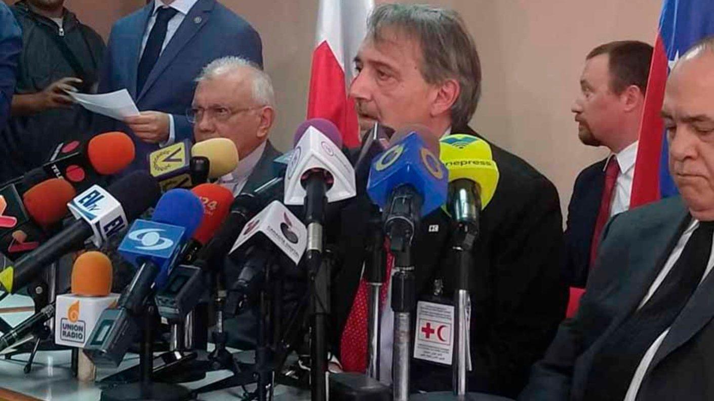 Cruz Roja dice que a más tardar en 15 días llegará la ayuda humanitaria