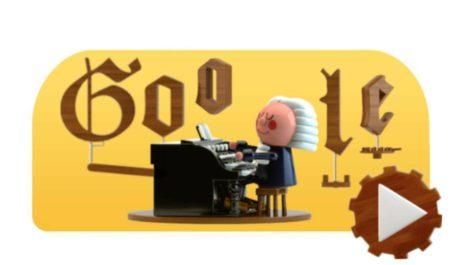 Google recuerda a Bach con un doodle basado en Inteligencia Artificial