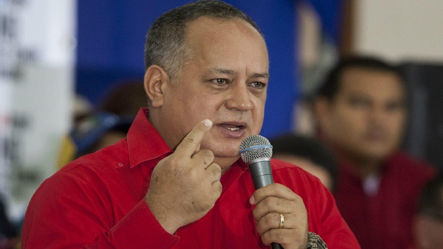 Diosdado Cabello acusa de mercenarios a escoltas de Guaidó