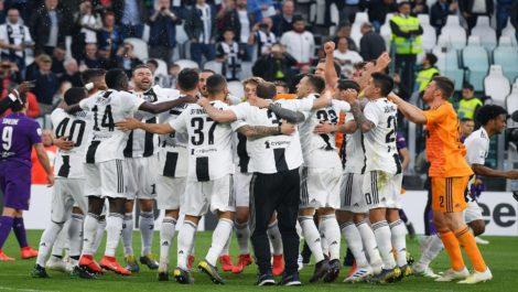 Juventus gana serie A