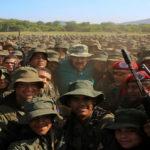 Maduro en ejercicios militares