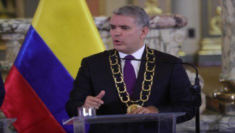 Ivan Duque en Perú