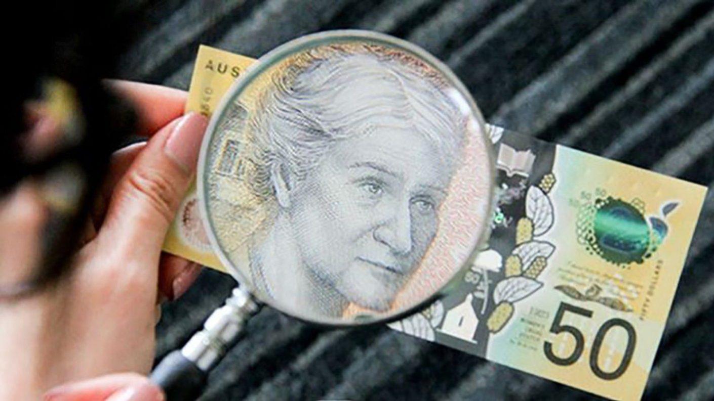 Descubren un error ortográfico en el billete de $50 en Australia