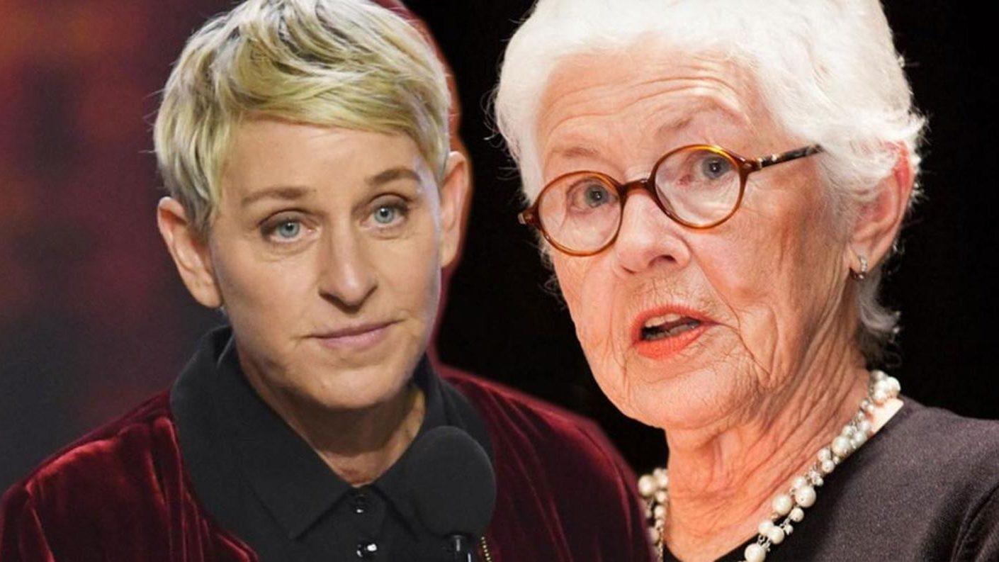 Ellen DeGeneres y su madre