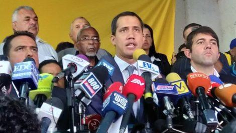 Guaidó dijo que Cabello «se vio confundido» al explicar reuniones con EEUU