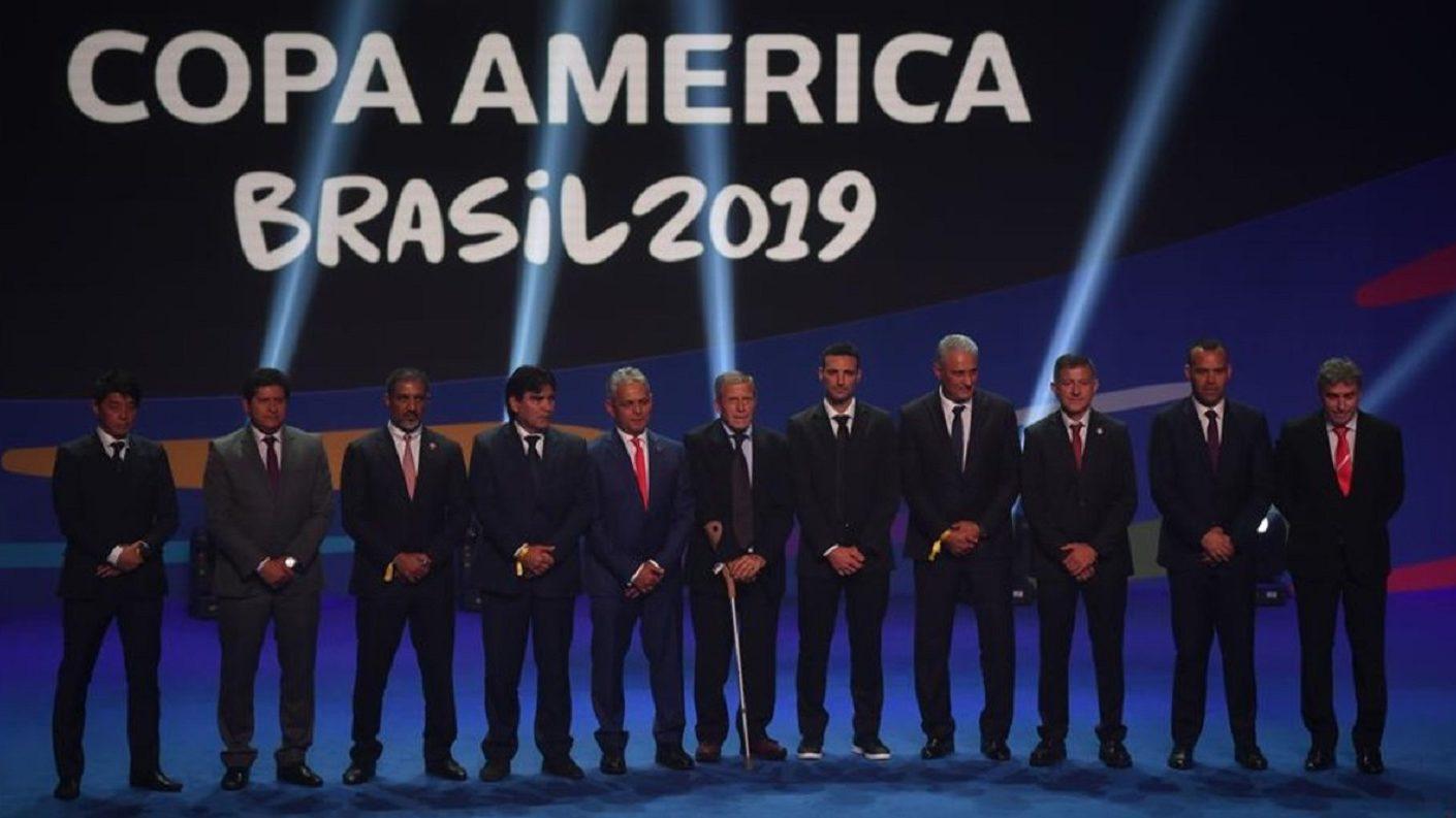 Estos son los 12 estrategas que guiarán las selecciones en la Copa América 2019