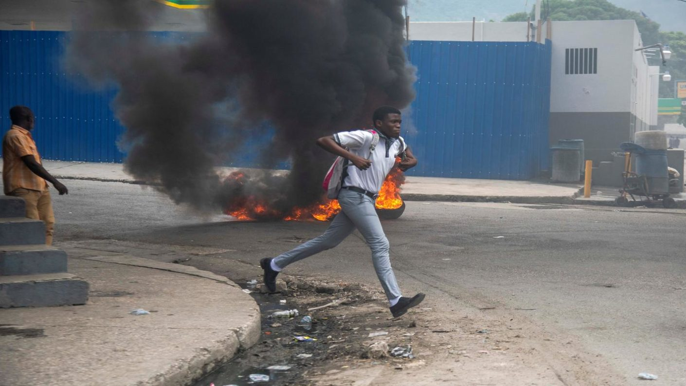 Manifestaciones Haití