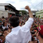 Juan Guaidó en Barinas
