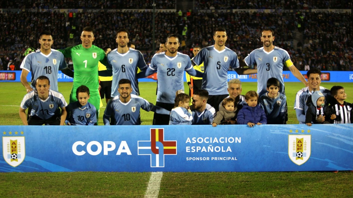 Uruguay sueña con ser campeón en Brasil