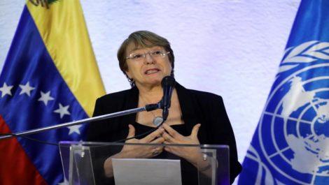 Bachellet dejó dos delegados en Venezuela