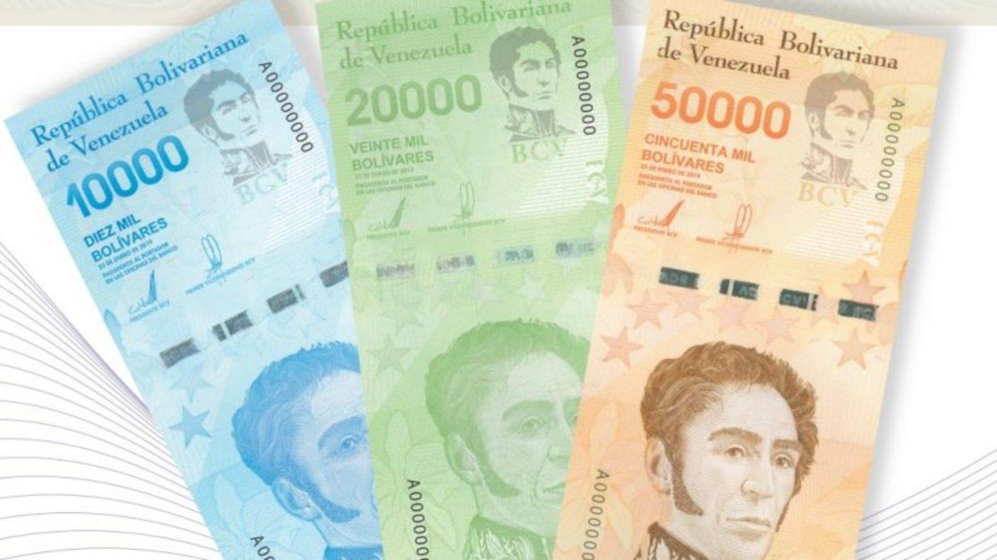 BCV reconoce hiperinflación al sacar billetes de hasta BsS 50.000