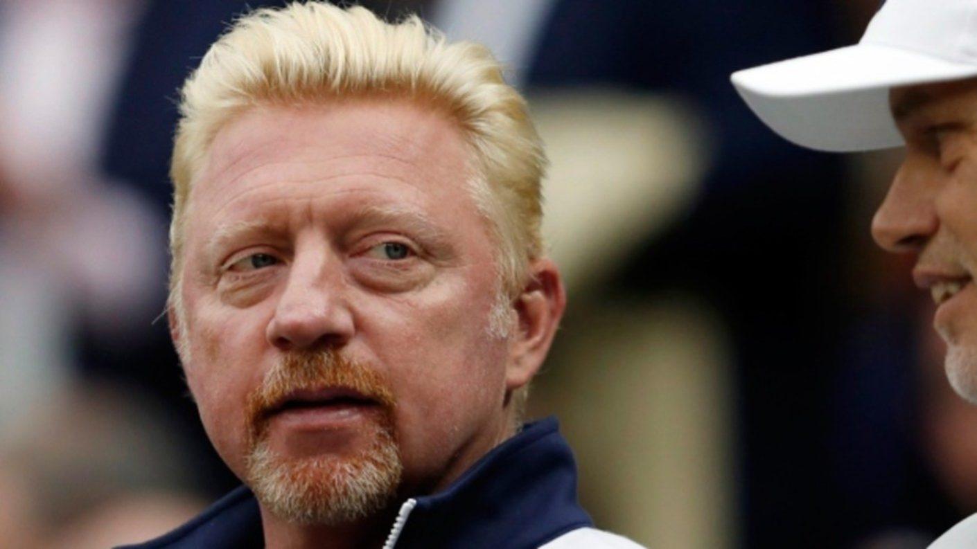 Trofeos del extenista Boris Becker son subastados para pagar deudas