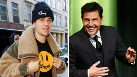 La pelea entre Justin Bieber y Tom Cruise parece que sí va
