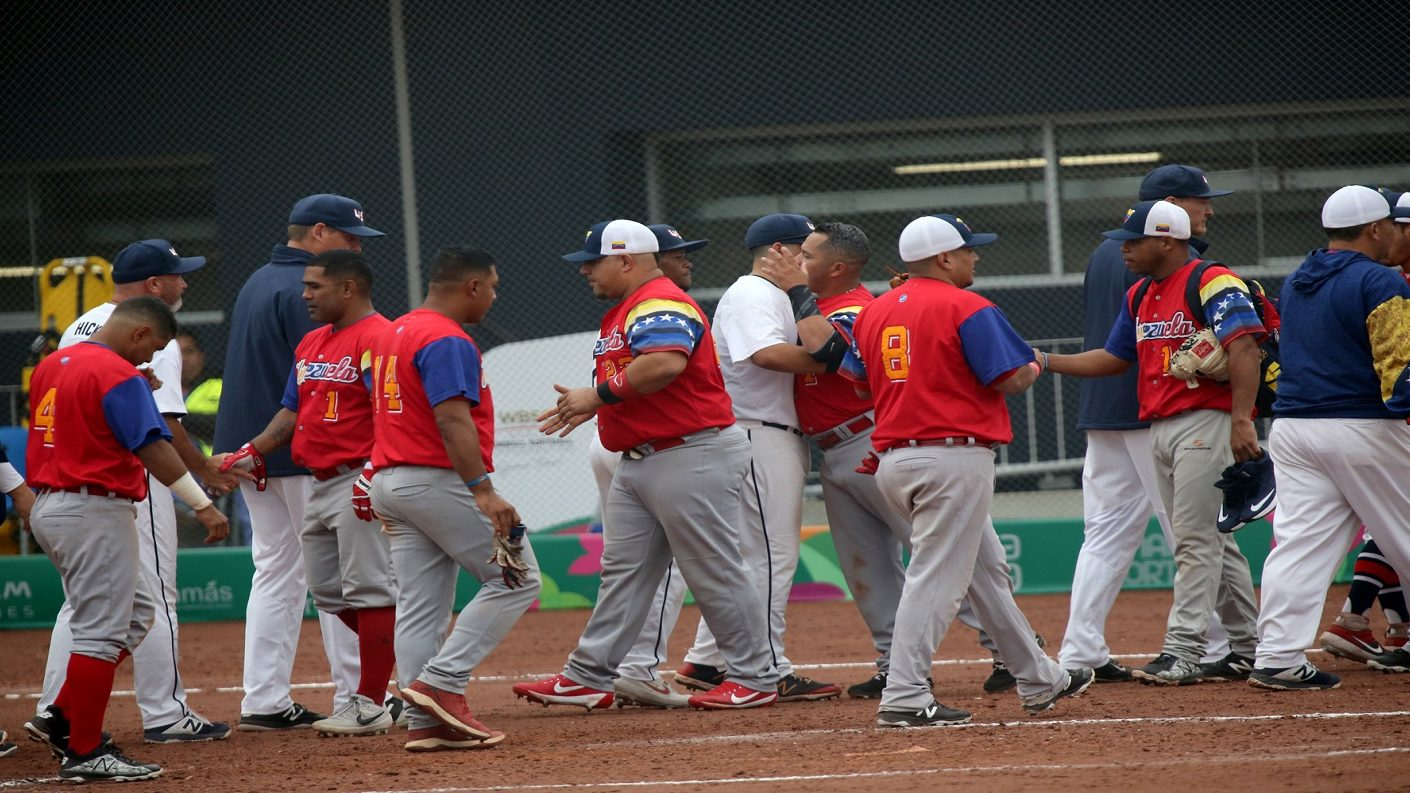 Venezuela no pudo en su estreno del softbol masculino en los Panamericanos