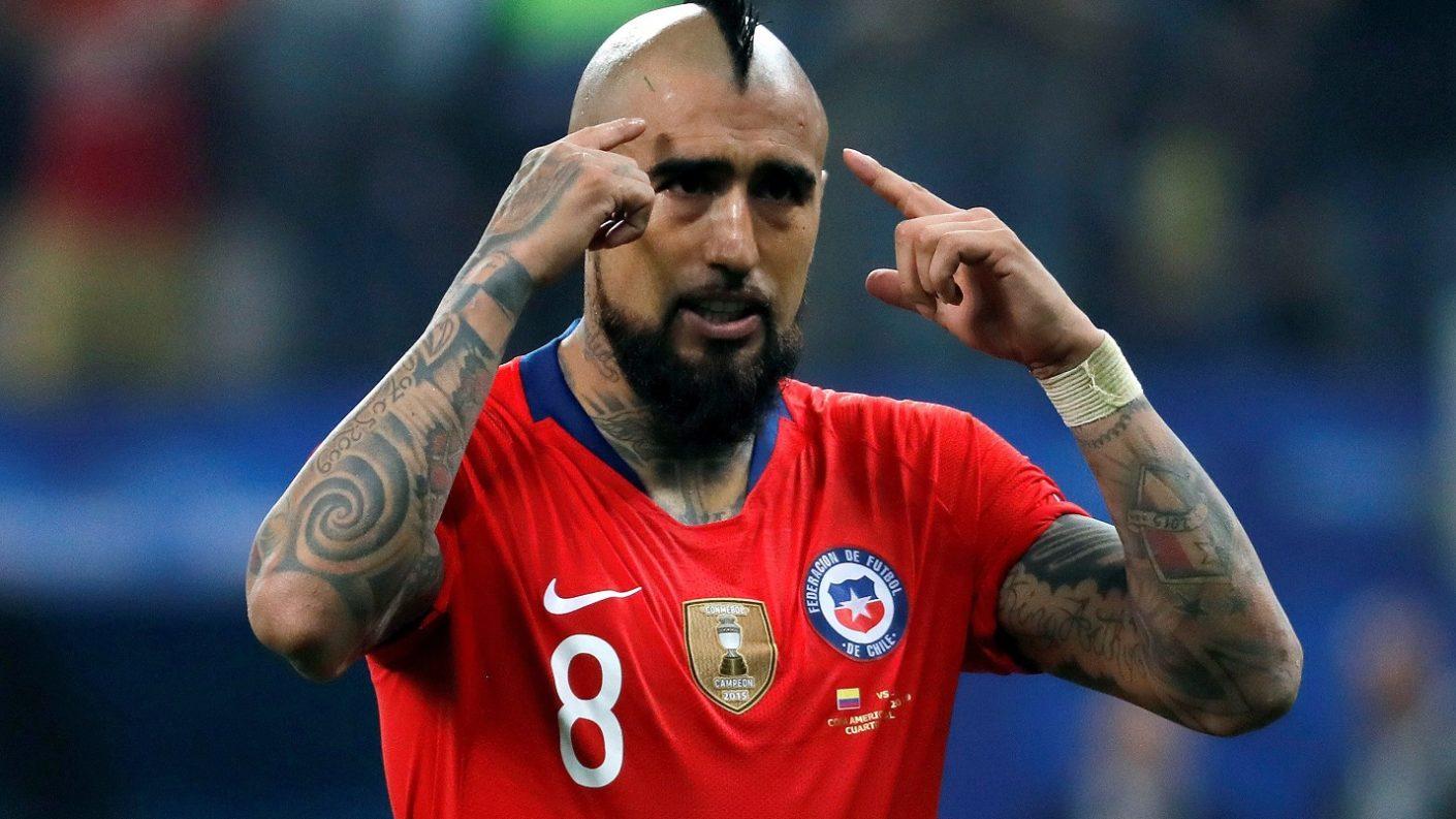 Vidal: «El sueño de nosotros es pasar a la historia como tricampeones»