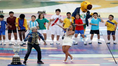 El Maracaná se llenó de fiesta para sellar la gran final de la Copa América