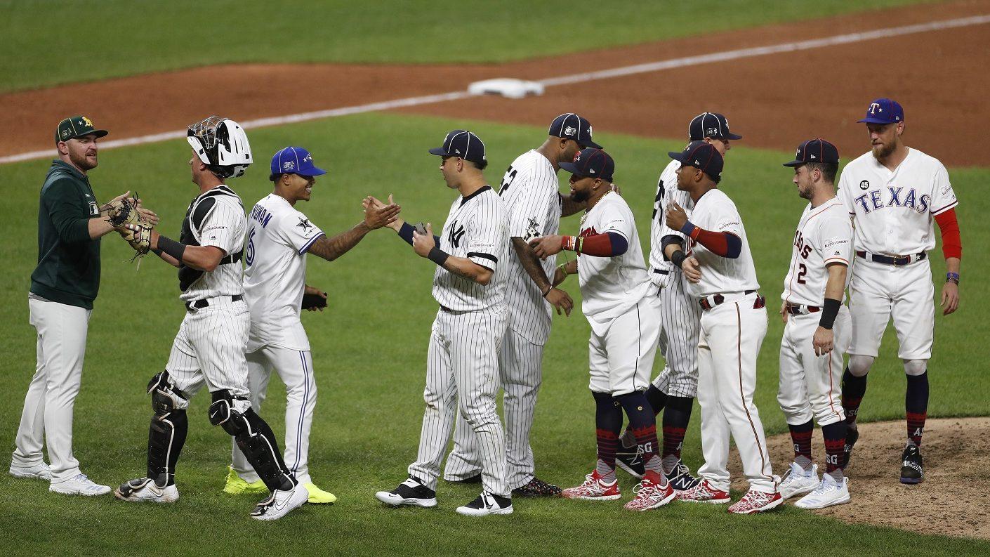 Liga Americana se llevó por séptima  vez consecutiva el Juego de las Estrellas