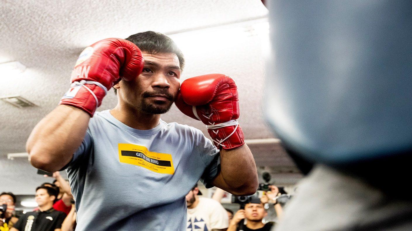 Manny Pacquiao se mide a Thuman para demostrar que sigue vigente