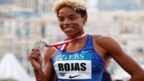 Yulimar Rojas reinó en Mónaco con salto de casi 15 metros