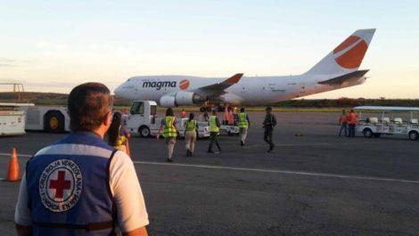 Llega a Venezuela nuevo cargamento de ayuda humanitaria por parte de la Cruz Roja
