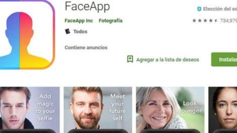 FaceApp maneja demasiada información que puede caer en malas manos