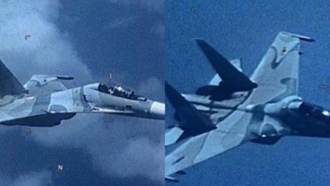 Comando Sur reveló que un caza Sukhoi venezolano «ensombreció agresivamente» a avión de EEUU