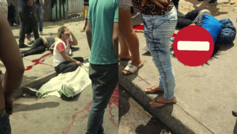 Sujetos con fusiles asesinaron a 7 personas en Guayana