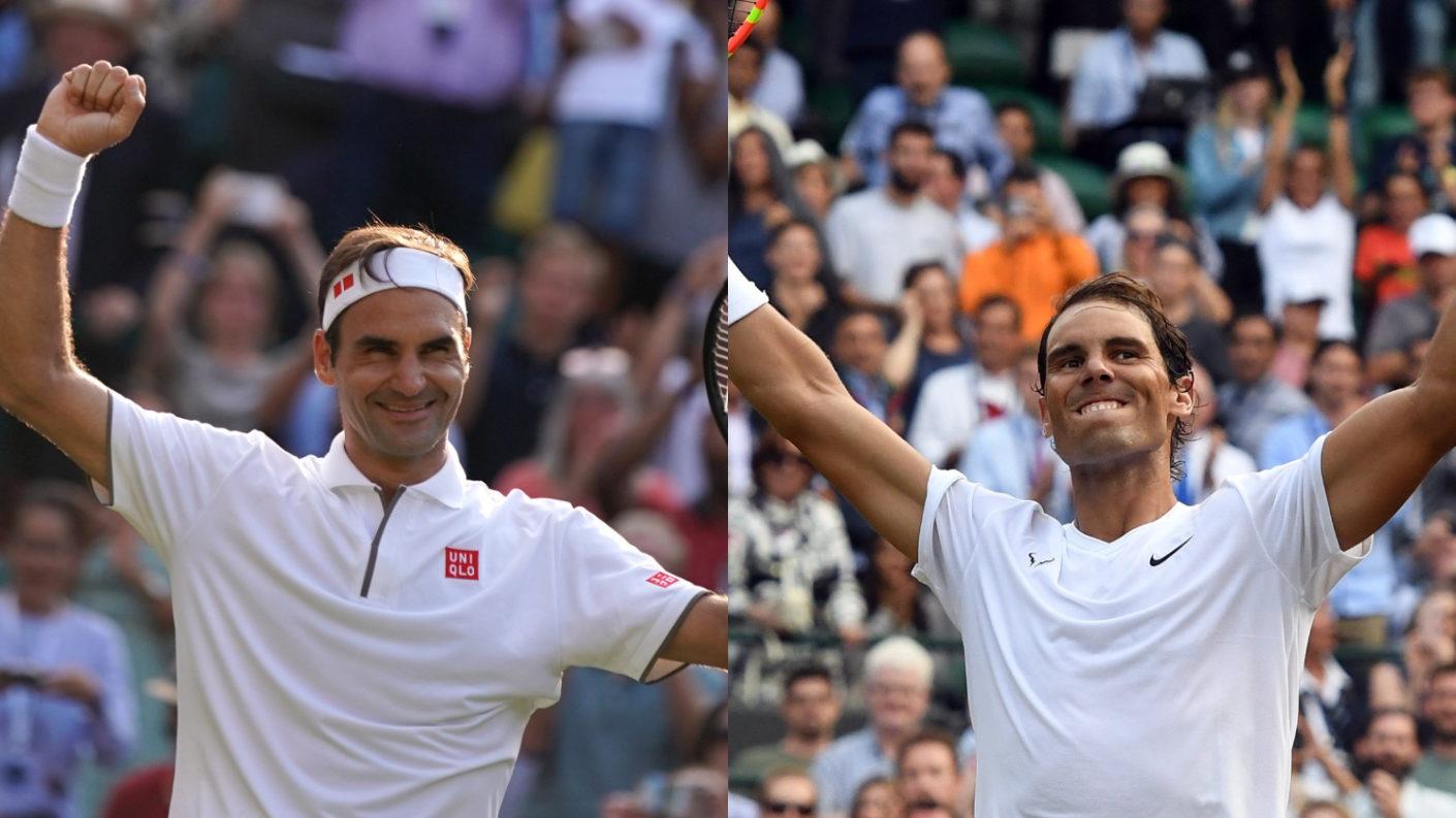 La rivalidad más importante del tenis: Federer y Nadal chocan en Wimbledon