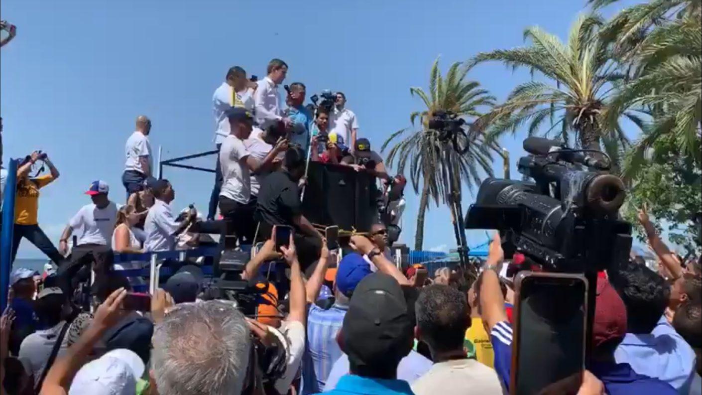Guaidó ratifica que en Barbados hay una mediación y no diálogo