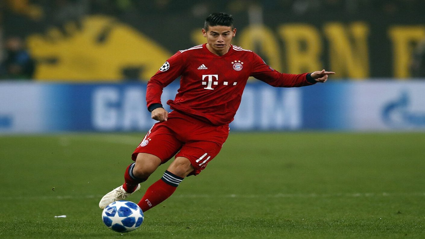 James será el nuevo jugador del Atlético de Madrid