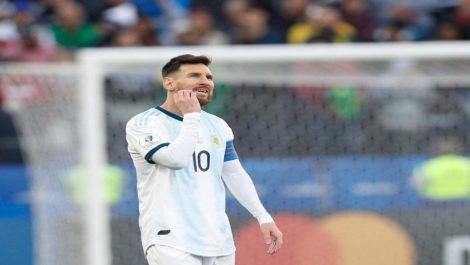 Messi recibió un partido de sanción y una multa de 1.500 dólares