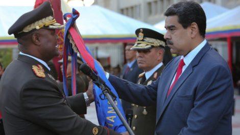 Maduro designa a Suárez Chourio como «Jefe del Estado Mayor de la Comandancia en Jefe»