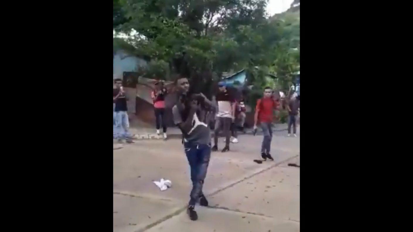 Ráfaga de disparos en Altagracia de Orituco se hace viral en Twitter