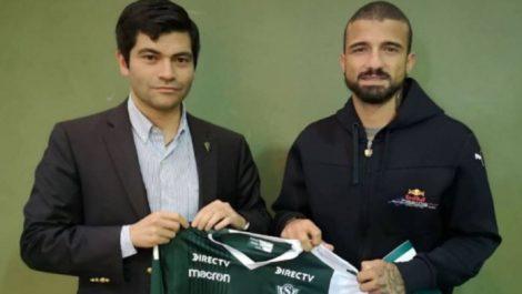 Néstor Canelón es el nuevo jugador del Santiago Wanderers